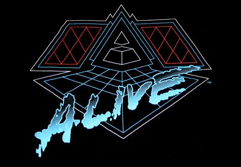 Daft Punk Alive '07 T-Shirt Logo