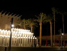 LACMA streetlamps