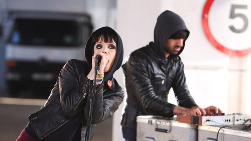 a fairly glamorous photo of crystal castles