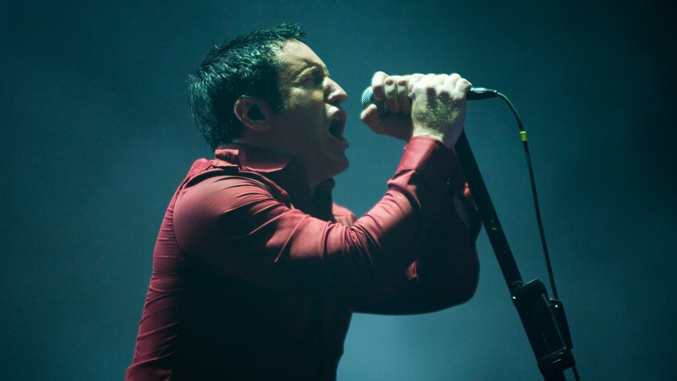 nine inch nails front man: trent reznor