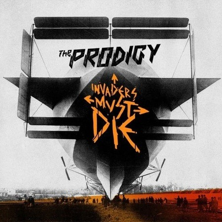 the official cover art for the prodigy's - invaders must die