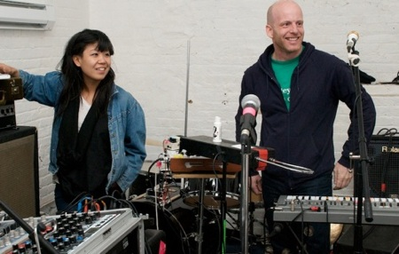 John Maclean & Nancy Whang (of LCD Soundsystem)