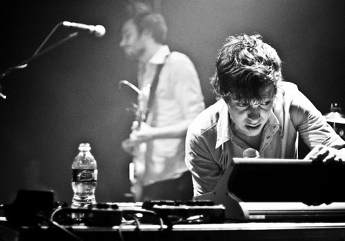 Ed Macfarlane of the Friendly Fires